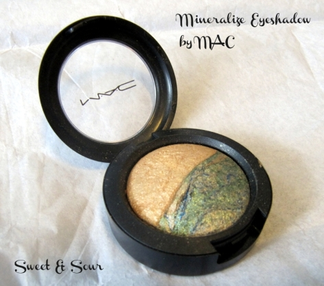 Sweet & Sour Mineralize Eyeshadow by MAC