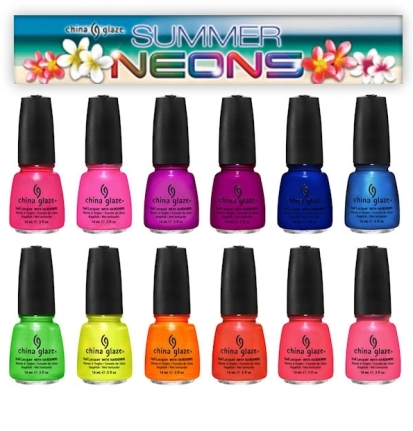 Summer 2012 Nail polish collection by China Glaze