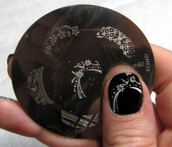 Stamping tutorial (konad nail art)