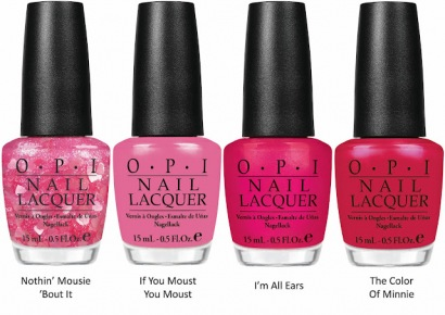 Minnie Mouse summer 2012 collection by OPI