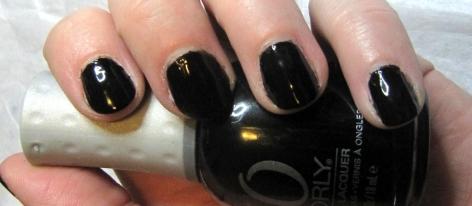 Shiny Black Nail Polish