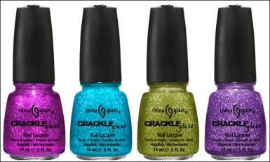 China Glaze Crackle Glitter