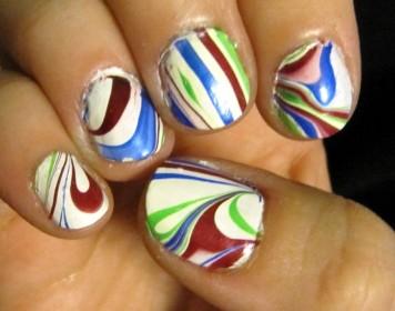 nail marbling tutorial