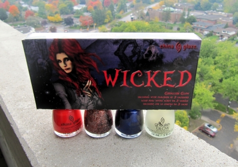"Value Pack from China Glaze's Halloween 2012 ""Wicked"" Collection"