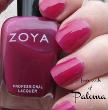 """Paloma"" by Zoya - nail polish swatch and review"
