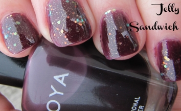 "Katherine Nail Polish by Zoya in ""Jelly Sandwich Nails"""