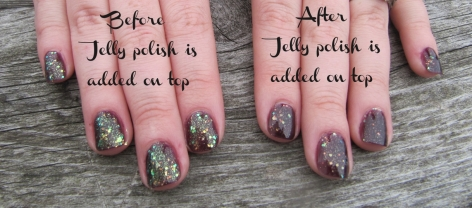 what are jelly sandwich nails?