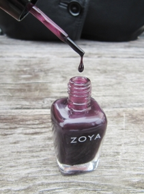 Katherine swatch - jelly polish by Zoya