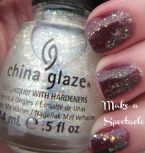 "Glitter nail polish from China Glaze 2012 Halloween Collection - ""Make a Spectacle"""