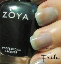 """Frida"" review - nail polish by Zoya"