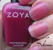 Paloma swatch - Zoya Gloss polish