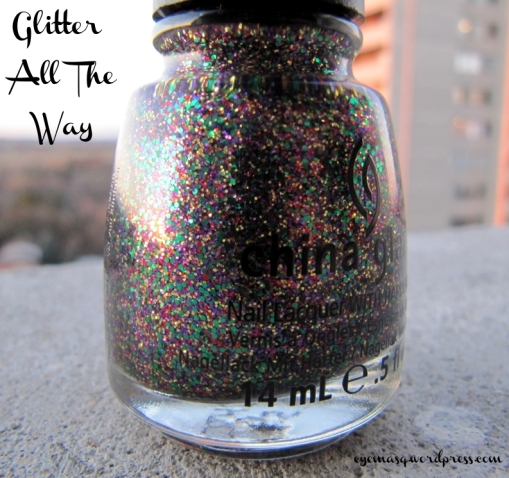 China Glaze - Glitter All The Way Nail Polish - Holiday Joy 2012 Collection