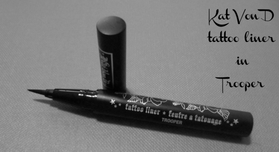 review of Kat Von D's tattoo liner