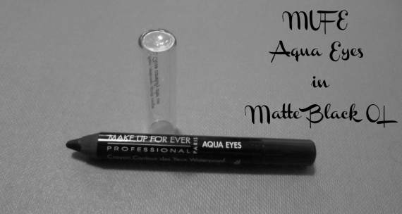 MUFE Aqua Eyes swatch and review