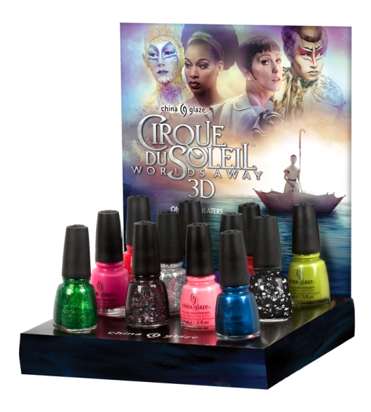 Cirque du Soleil nail polish collection 2012