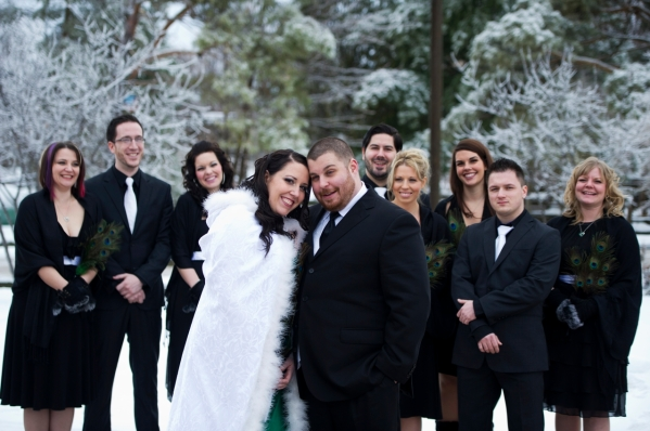 Winter Wedding in Ottawa Canada