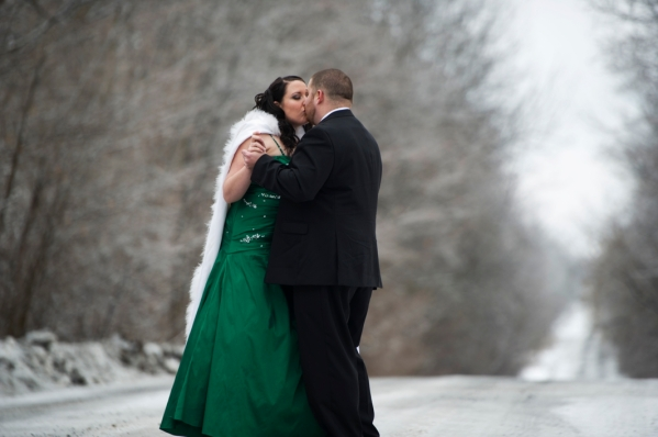 Canadian Winter Wedding