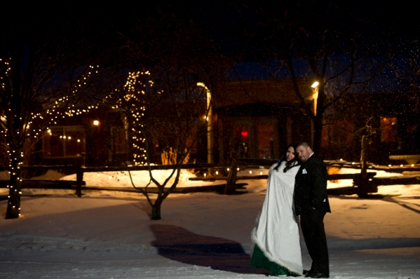 Winter Wedding in the snow