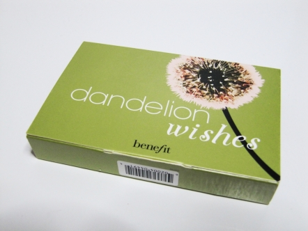 Dandelion sample from Benefit