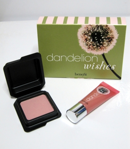 """Dandelion"" blush and gloss"